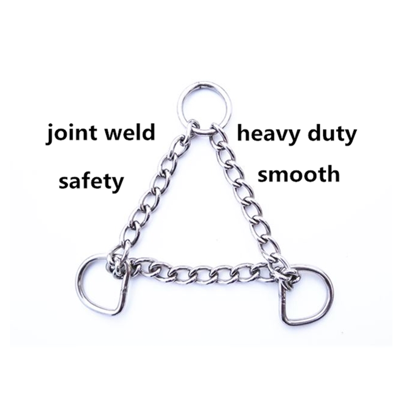 Stainless Steel Chain  For  Horse  Dog   Pet  10 Pieces Per  Lot