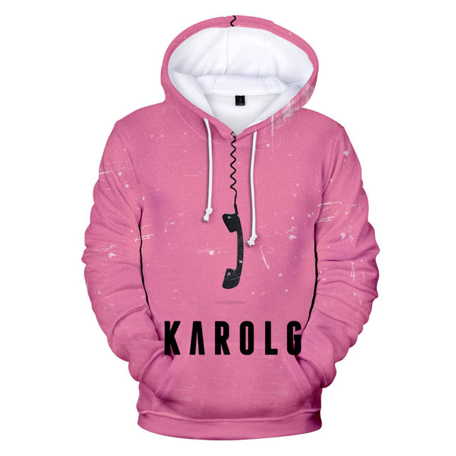 KAROL G THEMED 3D HOODIE