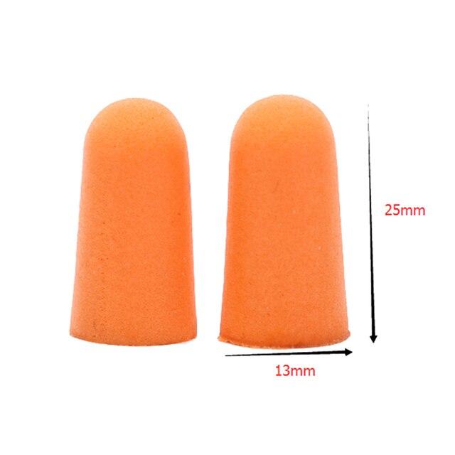 5 paires confort oreille pince réduction du bruit mousse souple bouchons doreille réduction du bruit bouchons doreilles de protection pour sommeil lent rebond bouchons doreilles