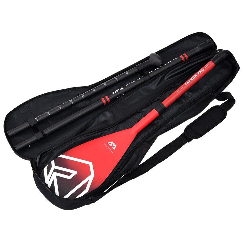 AQUA MARINA carbone PRO palette en fibre de verre pour SUP stand up paddle planche de surf réglable extensible 220cm rame T poignée A03007 - 6