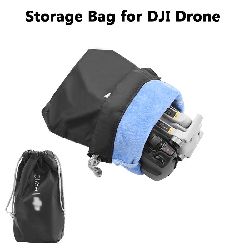 Storage Bag For DJI Mavic Mini 2 Pro Zoom AIR Spark Portable Handbag Cloth Protective Pocket Anti Scratches Dustproof Accessory