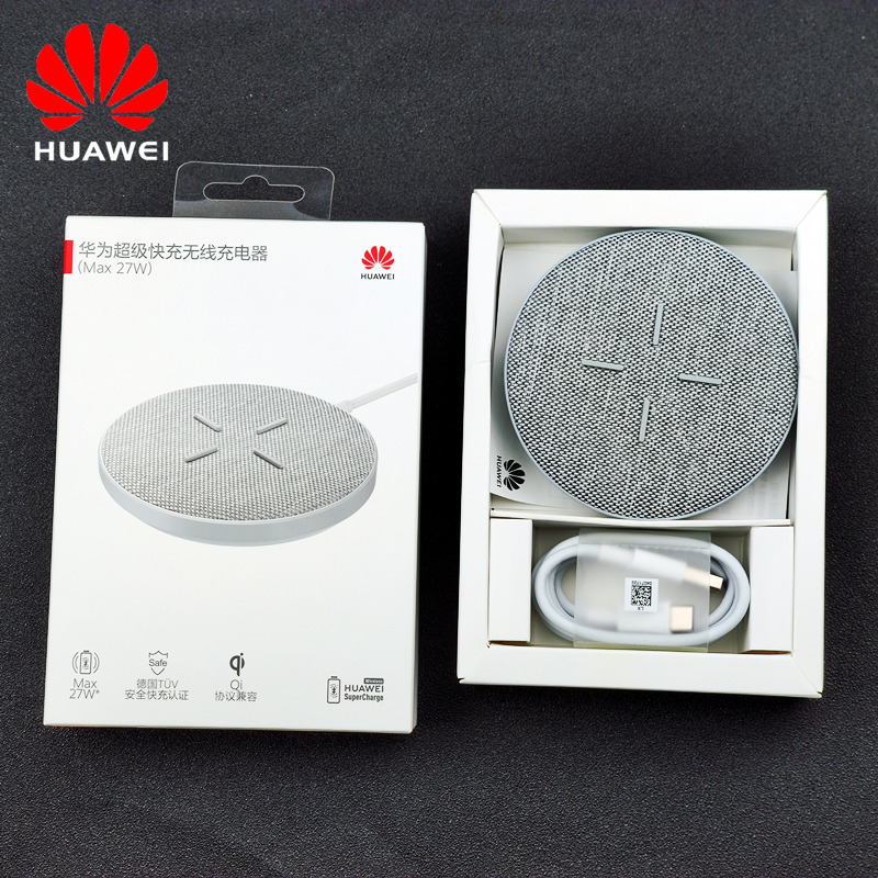 Max 27W Huawei Wireless Charger Supercharge WPC QI Fast Charge Dock stand for P30 mate 20 pro 30 5G PRO quick for iphone 11