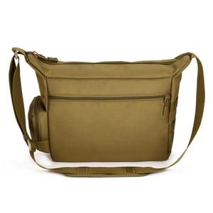 Image 3 - Tactical Sling Shoulder Bag Mens Waterproof Sport Military Crossbody Bag Outdoor Travel Molle Messenger Bag For 14 Laptop