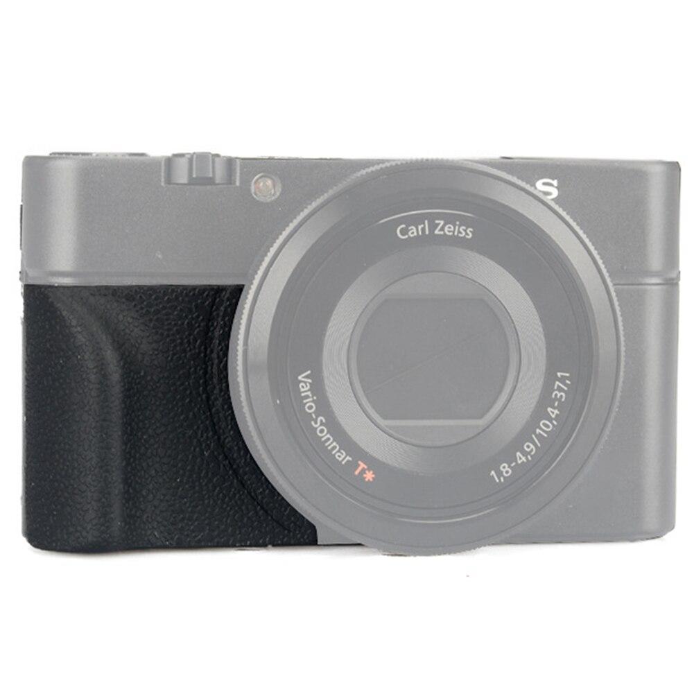 Bord incurvé anti-dérapant accessoire adhésif accessoires poignée caméra AG R2 pièces photographie Silicone ergonomique pour Sony RX100