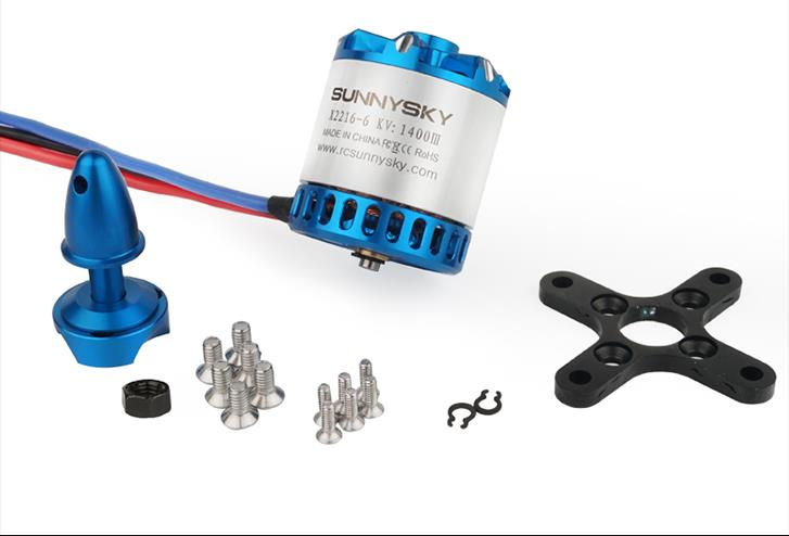 Original Sunnysky X2212 880KV 950KV 1100KV <font><b>1250KV</b></font> 1400KV <font><b>Brushless</b></font> <font><b>Motor</b></font> for RC Quadcopter Airplanes Fixed Wing Plane image