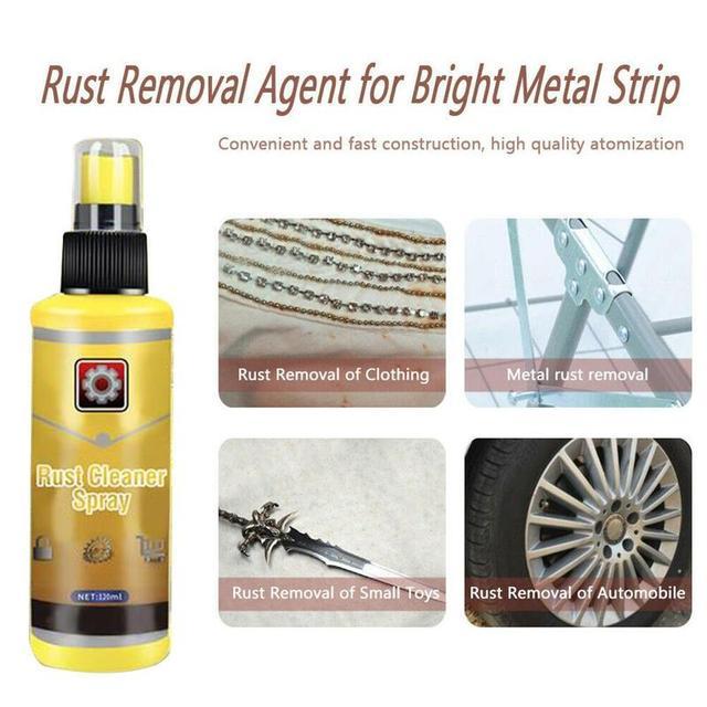 2020 new 120ml Rust Remover Window Rust Inhibitor Wheel Hub Derusting Spray Screw K1P6