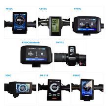 Bafang LCD DPC18 P850C 750C 500C SW102 C965A C961 P860C 750C Blu BAFANG bisiklet/Ebike BBS02B BBS01B BBSHD orta tahrik motoru