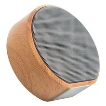 A60 Kayu Nirkabel Bluetooth Speaker Mini Portable Subwoofer Audio Stereo Loudspeaker Mendukung TF AUX USB(China)