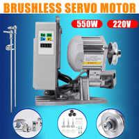 KiWarm 1 Uds 220V 550W ahorro de energía Mute Brushless Servo Motor utensilios de máquina de coser piezas de alta precisión de bajo ruido