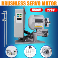 KiWarm 1Pcs 220V 550W Energy Saving Mute Brushless Servo Motor Sewing Machine Tools Parts High Precision Low Noise Drive