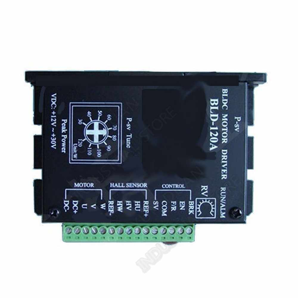 Hall Drive untuk BLDC Motor 12V 24V BLDC Driver 8A Controller Adjustable Speed PWM untuk 80W 100W 120W Brushless Motor 3PH
