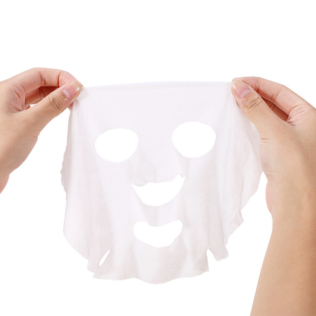 20pc/pask Compressed Face Mask Paper Disposable Sheet Diy Cotton Facial mask Makeup Wipes  Korean Beauty Tools Skincare 4