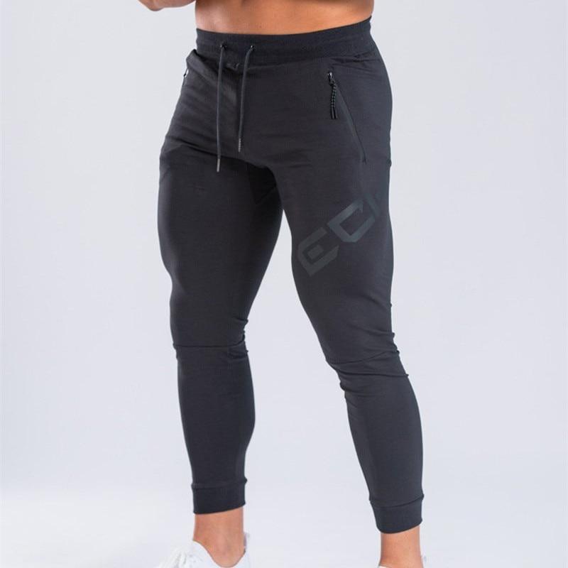 Men Pants printing Jogger Autumn Casual Mens Sweatpants Sportswear Long Trousers New Straight Pants Man Fitness Clothing