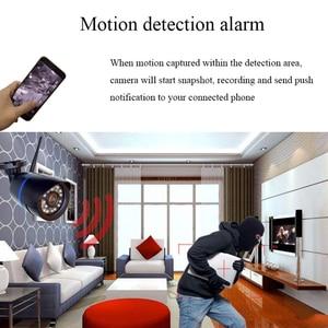 Image 4 - 1080P Hd 2MP Wifi Audio Ip Camera Draadloze 720P Outdoor Bullet Cctv Camera Surveillance Beveiliging Waterdicht Nachtzicht camera