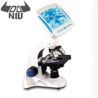 DANIU 2000X Professional Biological Microscope Sperm Observation Livestock Aquaculture Special All in one Microscopio Tool