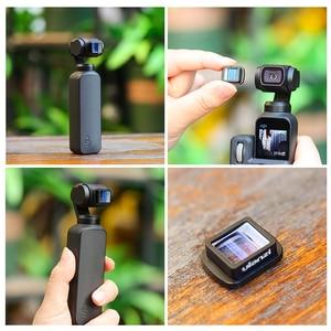 Image 3 - Ulanzi 1.33X Anamorphic Lens Voor Osmo Pocket Groothoek Lens Filmmaken Lens Magnetische Structuur Hd Gimbal Accessoires