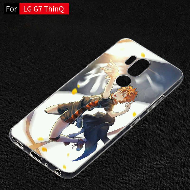 Anime Haikyuu Vôlei Case For LG G5 G6 Mini G7 G8 G8S V20 V30 V40 V50 ThinQ Q6 Q7 Q8 q9 Q60 W10 W30 Aristo 2 X Power 2 3