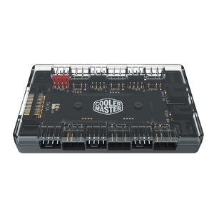 Image 3 - Cooler Master 1 To 6 Multi Way Splitter 5V/3PIN RGB Case Fan Hub Adapter PWM ARGB Addressble Fan Power interface SATA