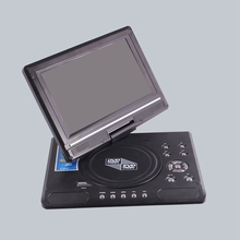 9.8นิ้วDVDแบบพกพาHD Mini TV Player