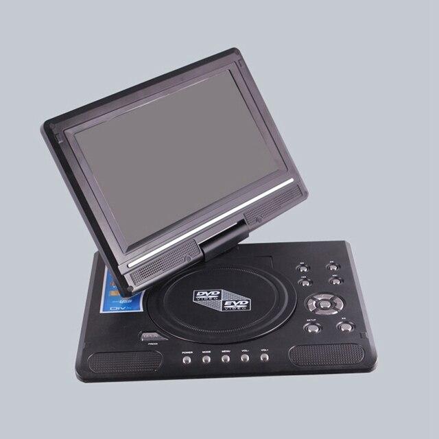 9.8 Inch Draagbare Mobiele Dvd Met Hd Mini Tv Speler