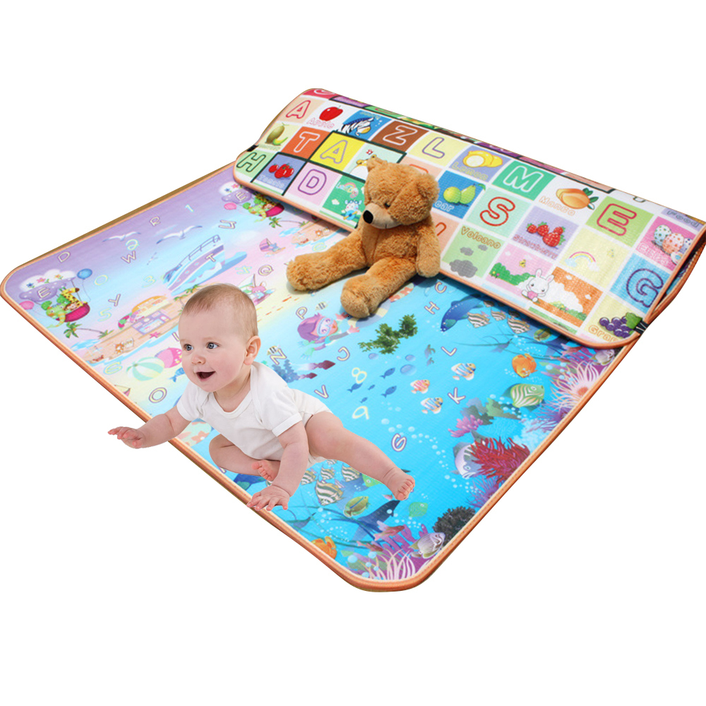 0.5cm Thick Baby Crawling Play Mat Educational Alphabet Game Rug For Children Puzzle Activity Gym Carpet Eva Foam Kids Toys Pad