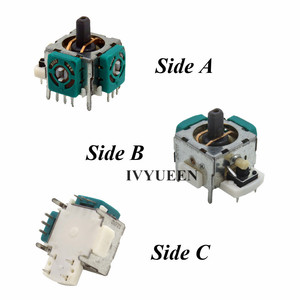 Image 3 - IVYUEEN 2 x 3d Analog Stick Sensor Potentiometers + 2 x Thumb Sticks Cap Cover for Microsoft Xbox 360 Controller Repair Parts