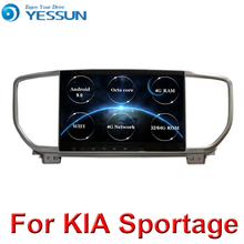 For KIA Sportage 2018 2019 Car Radio Multimedia Video Player Navigation GPS Android 9 Octa core 4G RAM No 2din