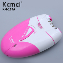 Kemei Electric Professional Hair Removal Beauty Set Personal Facial Care Ladies Cleaning Tool KM-189A