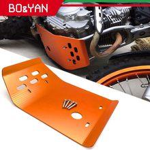 Plaque antidérapante de Protection du moteur, en alliage d'aluminium, couvercle de Protection pour moto Yamaha XT250, XG250, Tricker XG250 Serow XT250
