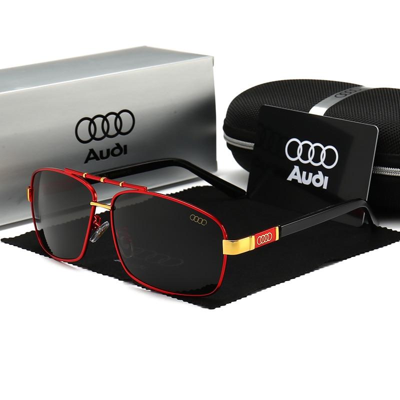 NEW Fashion Men Polarized Brand Mercede Sunglasses Has For Audi Glasses Logo Eyewear Lentes De Sol Mujer Driving Glasses Oculos