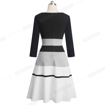 2020 Retro Elegant Business Party Dress 2
