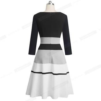 2020 Retro Elegant Business Party Dress 2