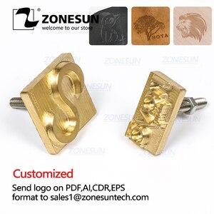 ZONESUN Custom Logo Leather St