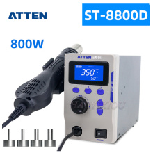 Heat-Gun Hot-Air-Station Atten-St-8800d Air-Volume-Anti-Static Adjustable And Temperature