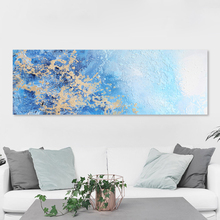 AAVV Painting Wall Art  Canvas Picture Abstract Landscape Print For Living Room Home Decor No Frame 3 panels circular canvas print golden line mountain landscape abstract picture chinese painting for office home decor wholesale