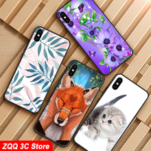 Case for LG Q7 Case Cover Soft Silicone 3d Cute Phone Cover For Coque LG Q7