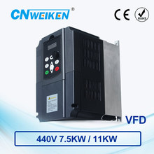 WK600 Vector Control frequency converter 440V Three-phase variable inverter for motor 7.5kw/11kw ac drive