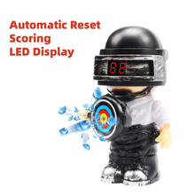 Electric Auto Reset Target Doll Action Figure Scoring Gel Ball Bb Guns Airsoft Weapon Target CS Toys  Shooting Target  for Nerf