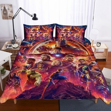 Home Textiles 3D Design Digital Printing Bedding Set Duvet Cover Pillowcase  Bedclothes Dropshipping game Film Heroes