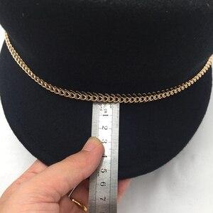Image 5 - Hats for women and men the new equestrian cap knights of autumn winter classic black cloth cap cap joker homburg mauny visors