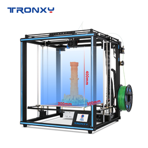 Image 4 - 2020 Upgraded 3D Printer Tronxy X5SA Filament Sensor Large Plus Size 330*330mm hotbed Full Metal TFT Touch Screen 3d Printer