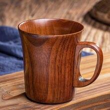 280ml Деревянная кружка Высокое качество Деревянные Кофе/Чай/Молоко/Сок/воды