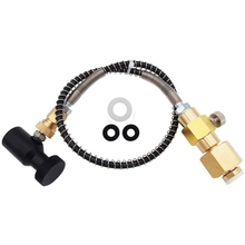 Connector Bottle Cartridges Soda Filling-Sodastream CO2 with Hose for Cga320-Tank Exchange-Adapter