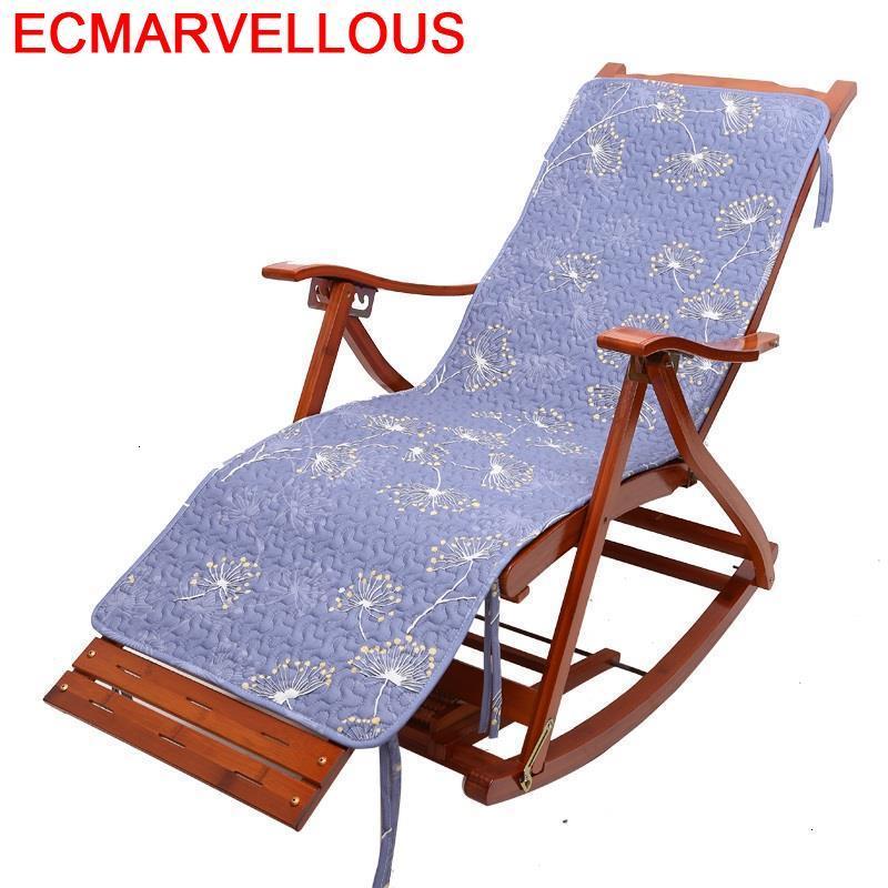 Floor Divano Rocking Chair Cama Plegable Bamboo Sillones Moderno Para Sala Sillon Reclinable Fauteuil Salon Chaise Lounge