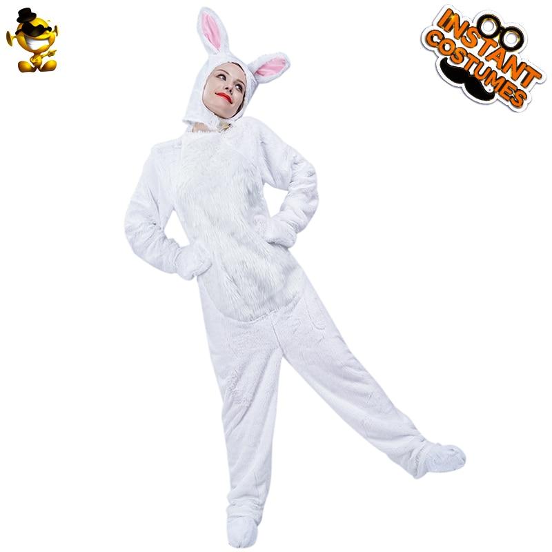 Animal Bunny Rabbit Hare Fancy Dress Hat Adult Women Men Costume Carnival