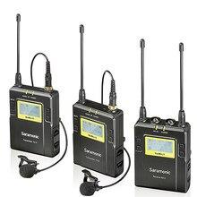 Saramonic-micrófono inalámbrico UwMic9, UHF, Lavalier, vídeo, para DSLR, Canon, Nikon, Sony, grabación de cámara