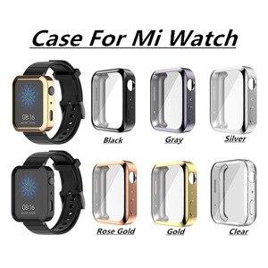 2019 Мягкий ТПУ защитный силиконовый чехол для xiaomi Watch SmartWatch Watachband Спортивные товары аксессуары Новинка