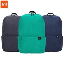 Mochila para laptop 10l xiaomi mi 165g, urbana, 10 cores, esportiva, para homens e mulheres, pequena ombro unise