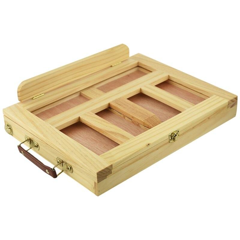 Folding&Portable Artist Desk Easel Wood Multi Positions Sketching Sketch Drawer