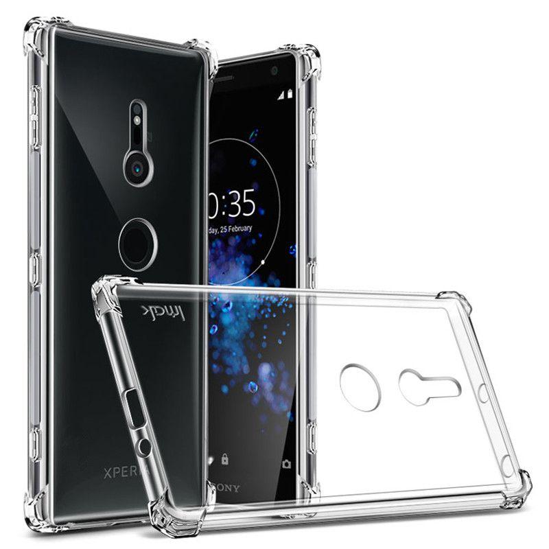 Sony Xperia XZ XZ1 XZ2 Yığcam Premium XA XA1 XA2 Ultra Plus - Cib telefonu aksesuarları və hissələri - Fotoqrafiya 1